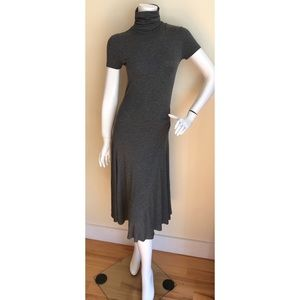 Ralph Lauren Black Label midi turtleneck dress